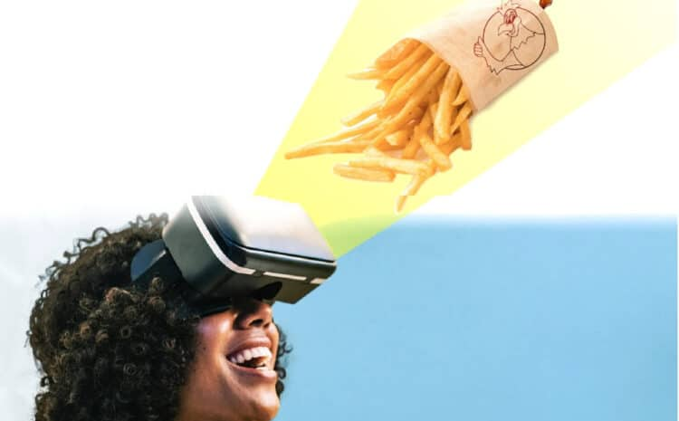 'How about virtual reality swoon your appetite?' – Chicken Hut Portuguese BBQ Shop